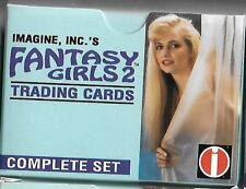 Lot of 50 FANTASY GIRLS 2 Factory Card Sets - Sexy Lingerie Vixens B Queen Stars