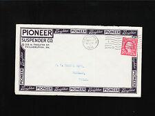 Pioneer Suspender Co Philadelphia 1915 Washington Franklin Coil Cover Á