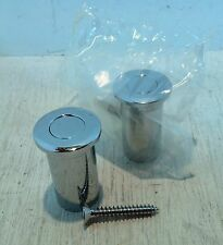 2 x Spring Loaded Dust Proof Sockets / Ferrules for use with Flush Bolt (5828)