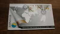 GIBRALTAR STAMP ISSUE FDC, 1992 EUROPA ROUND THE WORLD SAILING RALLY SET OF 3