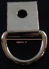 Lot of 20 1' Nickel Dee Ring with strap
