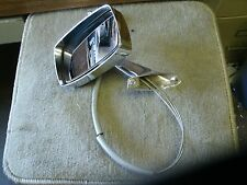 NOS 1969 1970 FORD MUSTANG CHROME OUTER MIRROR LH