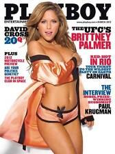 UFC Ring Girl  BRITTNEY PALMER  Photograph 8x10 Photo PLAYBOY Pose 2