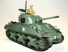 1:32 Forces of Valor Diecast WWII U.S Army M4 Sherman Tank D-Day Normandy 1944