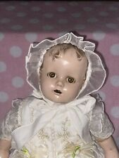 """New ListingAntique Ideal Movie Miracle On 34th Street St Baby Beautiful 22"""" Compo Doll"""
