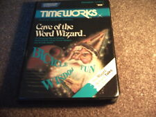 CAVE OF THE WORD WIZARD disk game (never used) C64 Commodore 64