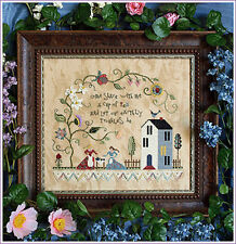 10% Off Victoria Sampler Counted X-stitch Chart - Tea Party