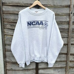 Vintage 2000 Clemson College Cup Oversized Sweatshirt From USA