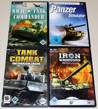 4 PC Giochi raccolta-carri armati simulatore Tank Commander Combat WWII simulazione