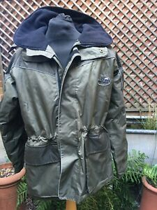 CONQUEST Fishing SET hooded  Country Casual hooded jacket & bid & Brace M/L