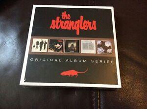 THE STRANGLERS. ORIGINAL CD ALBUM SERIES 5CD SET NEW AND SEALED.G1