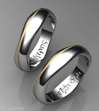 white-yellow or rose gold Ba112L 14k gold Wedding Bands selection