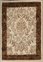 "Hand-tufted All-Over Floral 4x6 Oushak Agra Oriental Area Rug Wool 6' 1"" x 4' 4"""