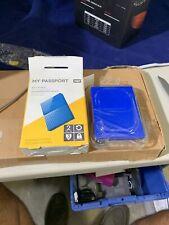 Western Digital My Passport 2TB Portable External Hard Drive Blue