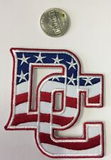 "WASHINGTON DC RED - WHITE- BLUE Embroidered Iron On Patch 3"" X 3"" NICE"