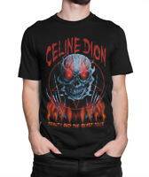 Celine Dion Death Funny Death Metal T-shirt, Rock Tee, Men's Women's All Sizes