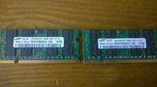 Samsung Ram 2 GB 2x1GB 2Rx8 PC2-5300S-555-12-E3 M470T2953EZ3-CE6