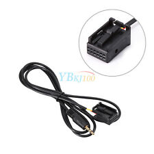 3.5mm Car Interface Aux-in Adapter Cables For Ford Focus Mk2 C-Max S-Max 6000