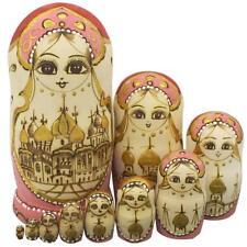 Winterworm Cute Handmade Wooden Traditional Russian Girl In Moscow Kremlin Tradi