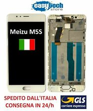 """LCD Display Touch Screen FRAME CORNICE Assembly MEIZU M5S MEILAN 5,2""""M612H WHITE"""