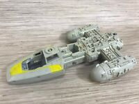 Vintage Star Wars Y-Wing Fighter Main Body Landing Gear Parts Kenner 1983 Mexico