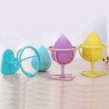 Maquillaje Belleza huevo Powder Puff Esponja Display Soporte Rejilla de secado