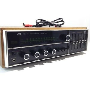 Rare Vintage JVC 5010 AM/FM Phono Aux Home Stereo Receiver w/ Equalizer Tested