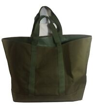 LL Beam Extra Large Olive Green Hunter's Tote Bag Open-Top