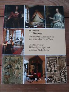 Christie's Amsterdam 20 Rooms The Private Collection of the Late Mrs Elias-Vaes