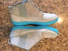 AIR JORDAN V.2 GROWN MATTE SILVER GREY CHLORINE BLUE 414174-005  SIZE 11.5