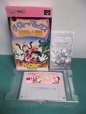 SNES -- GOOF TROOP Goofy Max -- Super famicom. Japan game. work fully. 14252