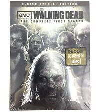 The Walking Dead DVD Set Complete First Season 1 One 3 Disc Special Edition TV