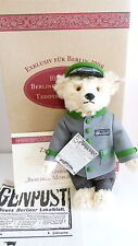 Steiff Bear - Berliner Morgenpost 1998 - 655425  - Limited - Box and Cert