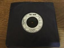 """The Who """"Let's See Action & When I Was A Boy"""" 7"""" Single EX CONDITION"""