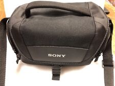Sony LCS-U21 Case For Alpha DSLR, NEX, Cyber-shot cameras and Handycam  NEW