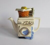 Paul Cardew Design Novelty Collectors Washing Machine Ornament Teapot