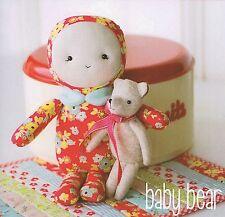 Baby Bear-Sewing Craft Pattern Cloth Rag Doll Felt Bear Quilt Pattern