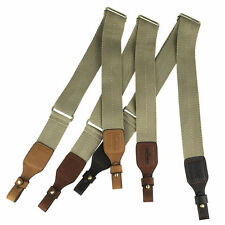 Tourbon Tactical Gun Slings Rifle Shoulder Straps Webbing Leather Range Shooting