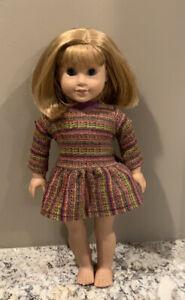 2008 American girl Nellie 53562 blonde hair blue eyes Chewed Foot