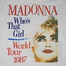 Madonna Who's that girl world tour 1987 T-shirt Men All Size S M L XL 234XL PP09
