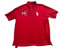 Vintage Polo Ralph Lauren Men 3XLT Rugby Polo Shirt Big Pony Logo