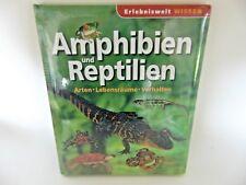 erlebniswelt conocimiento - Anfibio y reptillien Tapa Dura Libro