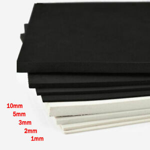 1~10mm EVA Foam Sheets 35x50 35x100cm White Black Sponge Paper DIY Craft Cosplay