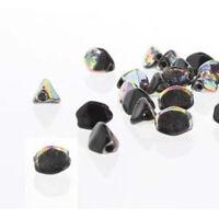 Czech Glass Pinch Beads 5mm 50 Beads Loose strung strand U-Pick