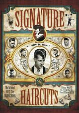 "TARGA VINTAGE""SIGNATURE HAIRCUTS BARBER SHOP""Pubblicità,ADVERTISING,POSTER PLATE"