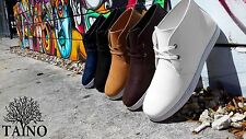 TAYNO SHOES URBAN  HIGH TOP CONFORT CASUAL SHOES BLACK WHITE CAMEL