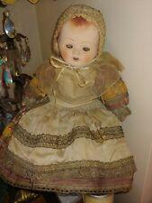 Antique France H 40 Papier Mache Doll