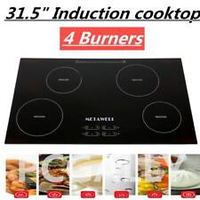 31.5 Inch 240V Induction Hob 4 Burner A-grade Glass Plate Electric Stove Cooktop