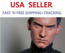 CUSTOM 1/6 Spider-Man Tobey Maguire Head Sculpt Peter Parker for 12'' male body