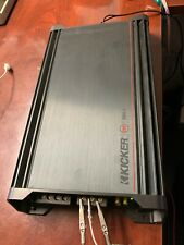 KICKER Dx300.2  300W Rms 2 Ch Amplifier - Black Stereo Bridgeable